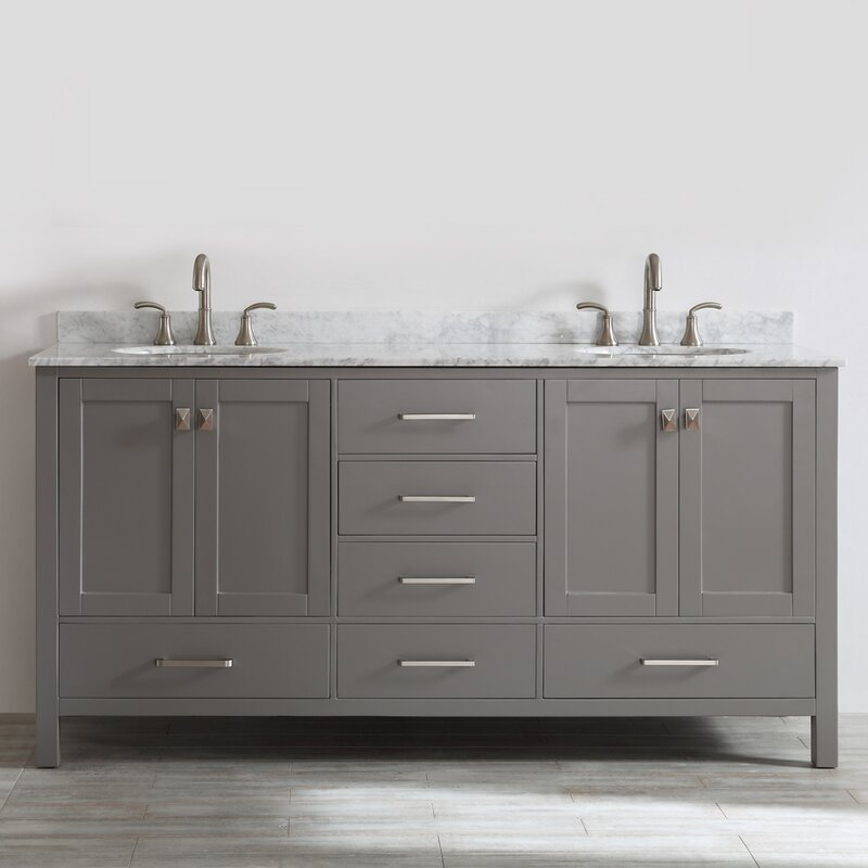 Newtown 72 Double Vanity Set