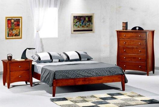 night & day spices queen platform customizable bedroom set