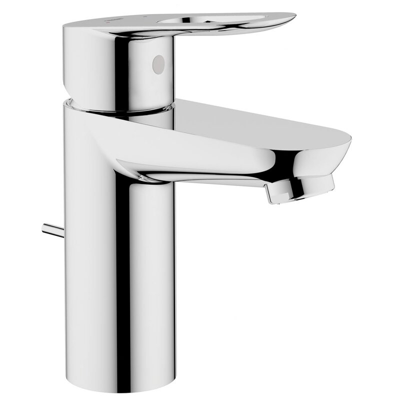 grohe bauloop single handle bathroom faucet & reviews | wayfair