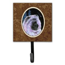 Starry Night Keeshond Leash Holder and Wall Hook by Caroline's Treasures