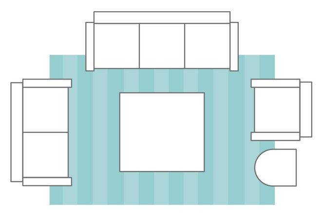 Front Legs On The Rug Living Room Layouts Wayfair S Ideas Advice