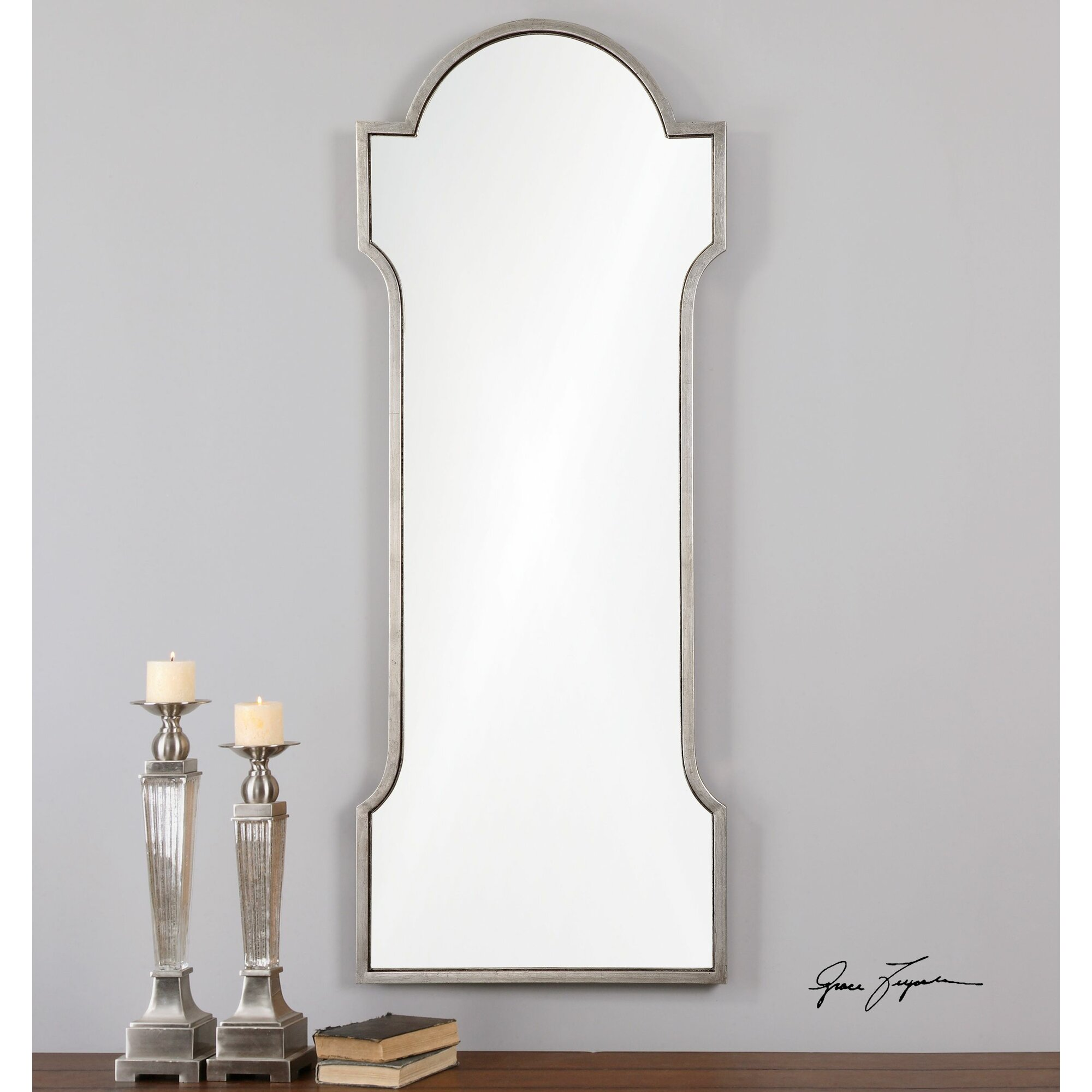 Willa Arlo Interiors Silver Metal Frame Mirror Reviews