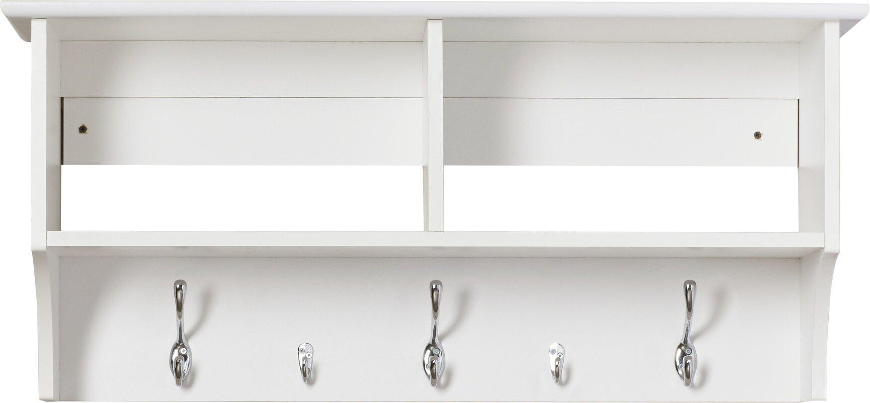 three posts wood wall mounted coat rack  reviews  wayfair - defaultname