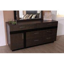 Tucana 4 Drawer Combo Dresser by Brayden Studio