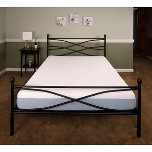 bed frame bed frames youll love wayfair - Mattress And Bed Frame