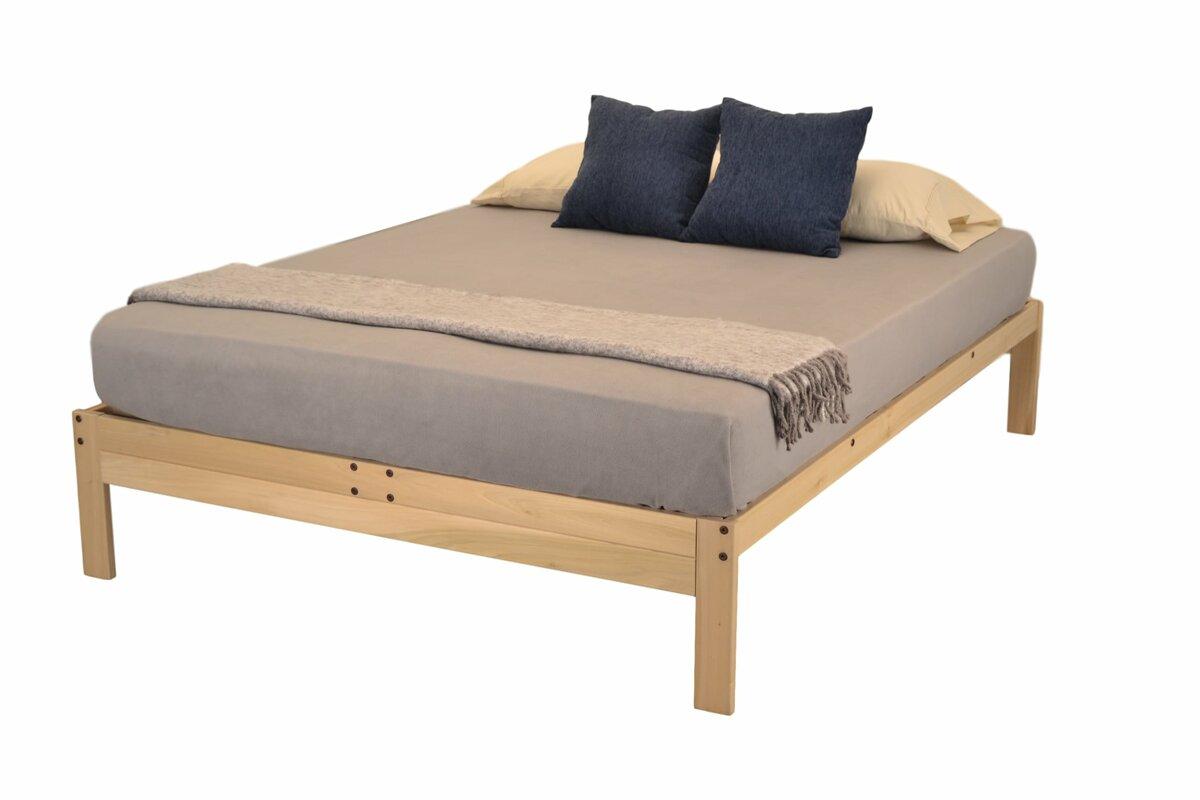 kd frames nomad plus platform bed & reviews   wayfair