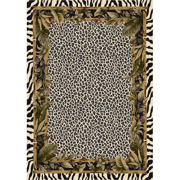Milliken Signature Jungle Safari Snow Leopard Area Rug U0026 Reviews | Wayfair