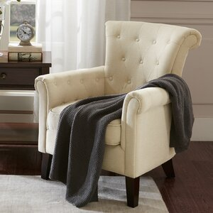 Lavery Tufted Armchair by Alcott Hill