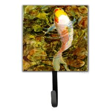 Koi Fish Leash Holder and Wall Hook by Caroline's Treasures