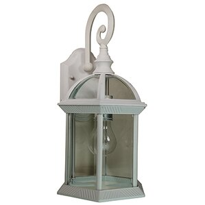 blue hills 1light outdoor wall lantern
