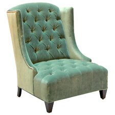 Ryegate Velvet Wing back chair by House of Hampton