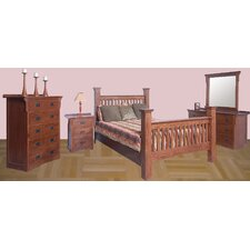 Queen Panel Customizable Bedroom Set by Forest Designs