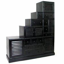 Tonsu Step Cabinet by Wayborn