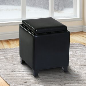 Carroll Storage Ottoman with Tray by Brayden Studio