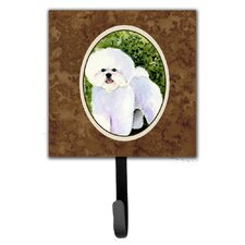 Bichon Frise Leash Holder and Wall Hook by Caroline's Treasures