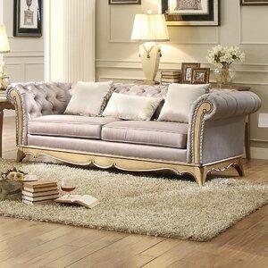 Bainbridge Chesterfield Sofa by Astoria Grand
