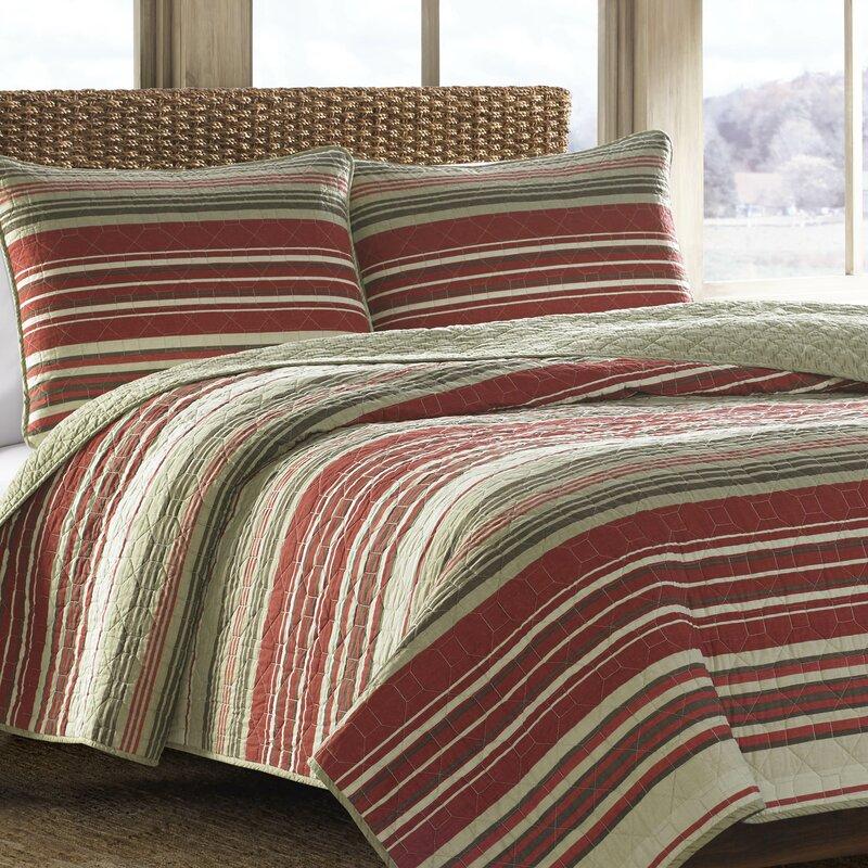 eddie bauer yakima valley reversible quilt set & reviews | wayfair