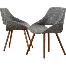 modern upholstered dining chairs | allmodern