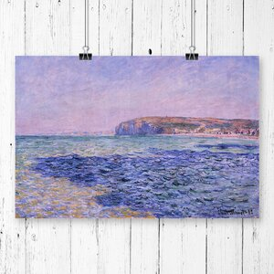 'Seascape' by Claude Monet Painting Print