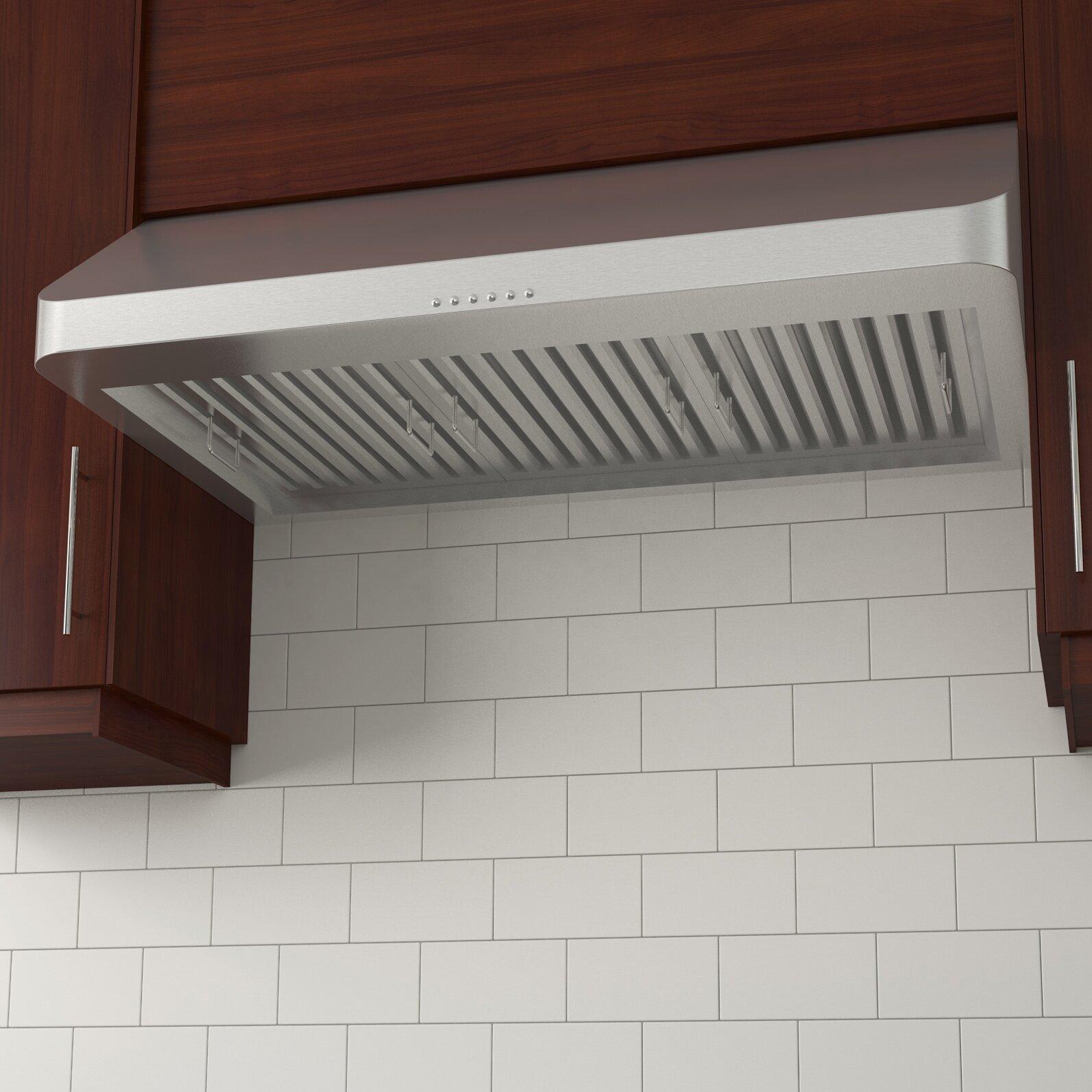 Ancona Chef Under Cabinet Ii Kitchen Range Hood | MF Cabinets