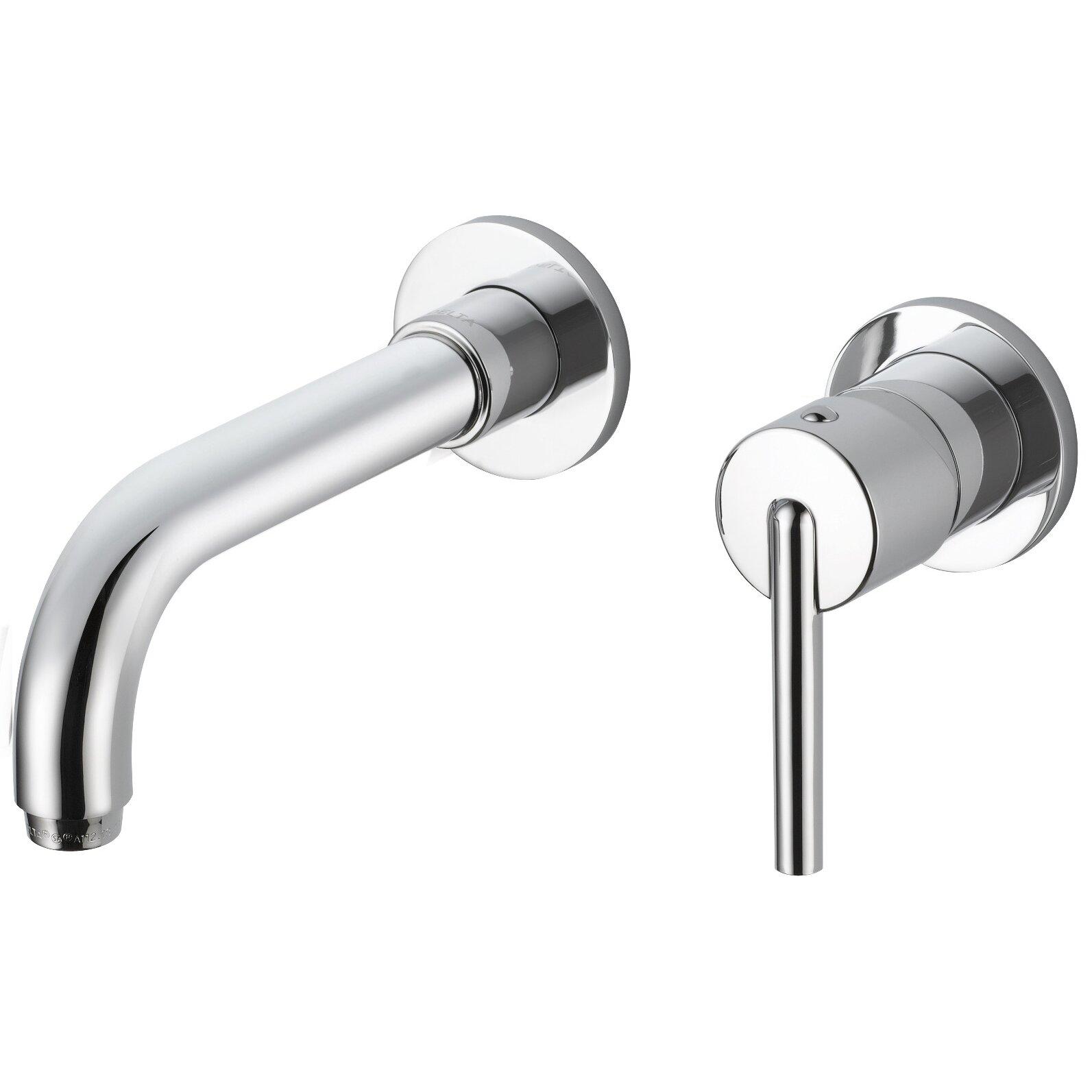 Cross Handle Bathroom Faucet Delta Trinsicr Bathroom Faucet Trim Single Handle Reviews Wayfair
