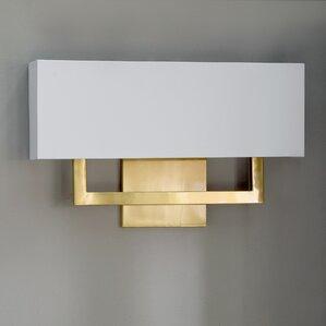 galloway 1light aluminum led flush mount