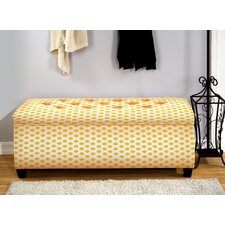 Upholstered Storage Bench by The Sole Secret