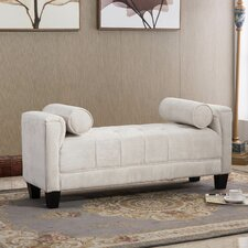 Arborway Upholstered Bedroom Bench by Red Barrel Studio