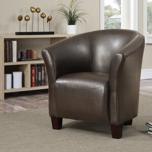 MiKell Barrel Chair by Latitude Run