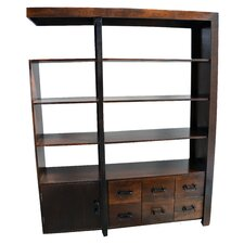 Ramsey 79 Accent Shelves Bookcase by MOTI Furniture