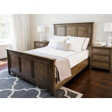 Justin Weathered Oak Panel Bed by Laurel Foundry Modern Farmhouse