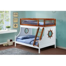 Captain Twin over Full Bunk Bed by Infini Furnishings