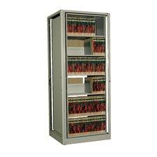 Ez2 Rotary File 72 H Six Shelf Shelving Unit by Datum Storage