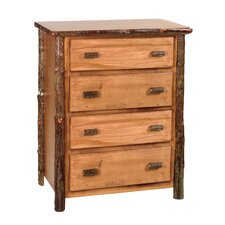 Hickory 4 Drawer Lingerie Chest by Fireside Lodge