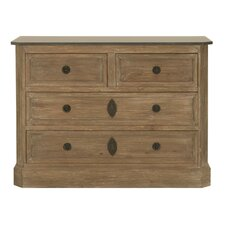 Chappel 4 Drawer Dresser by Bungalow Rose