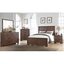 Urban Queen Panel 4 Piece Bedroom Set by Ultimate Accents