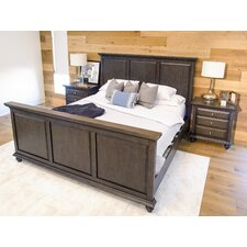 Dezirae Panel 3 Piece Bedroom Set by World Menagerie