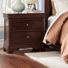 Provence 2 Drawer Nightstand by Cresent Furniture