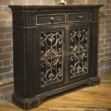 Classic Habersham Monaco Foyer Cabinet by Habersham