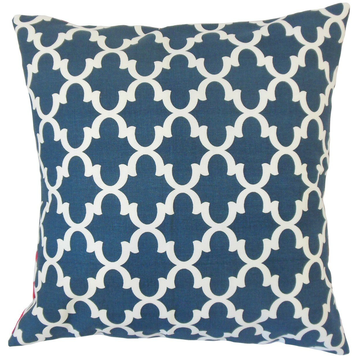 Throw Pillow Liners : The Pillow Collection Benoite Geometric Throw Pillow & Reviews Wayfair Supply
