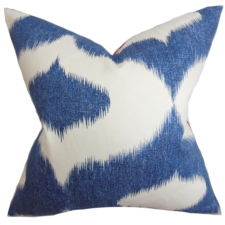 red barrel studio otter creek ikat throw pillow  reviews  wayfair - otter creek ikat throw pillow