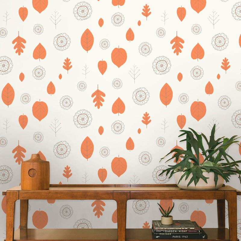 10 Best Mid-century Modern Wallpaper Ideas / Retro Wallpaper / A View of the Woods Wallpaper