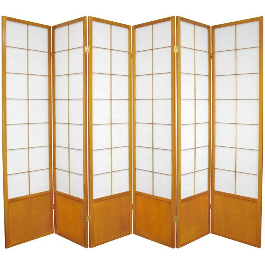 70 25 X 84 Asian Zen 6 Panel Room Divider