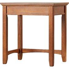 San Luis Corner Table in Medium Brown Oak by Loon Peak
