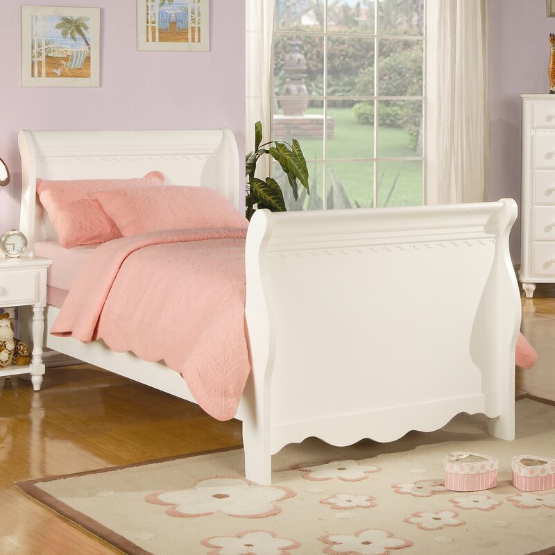 default name. Wildon Home   Plymouth Youth Sleigh Bed   Reviews   Wayfair
