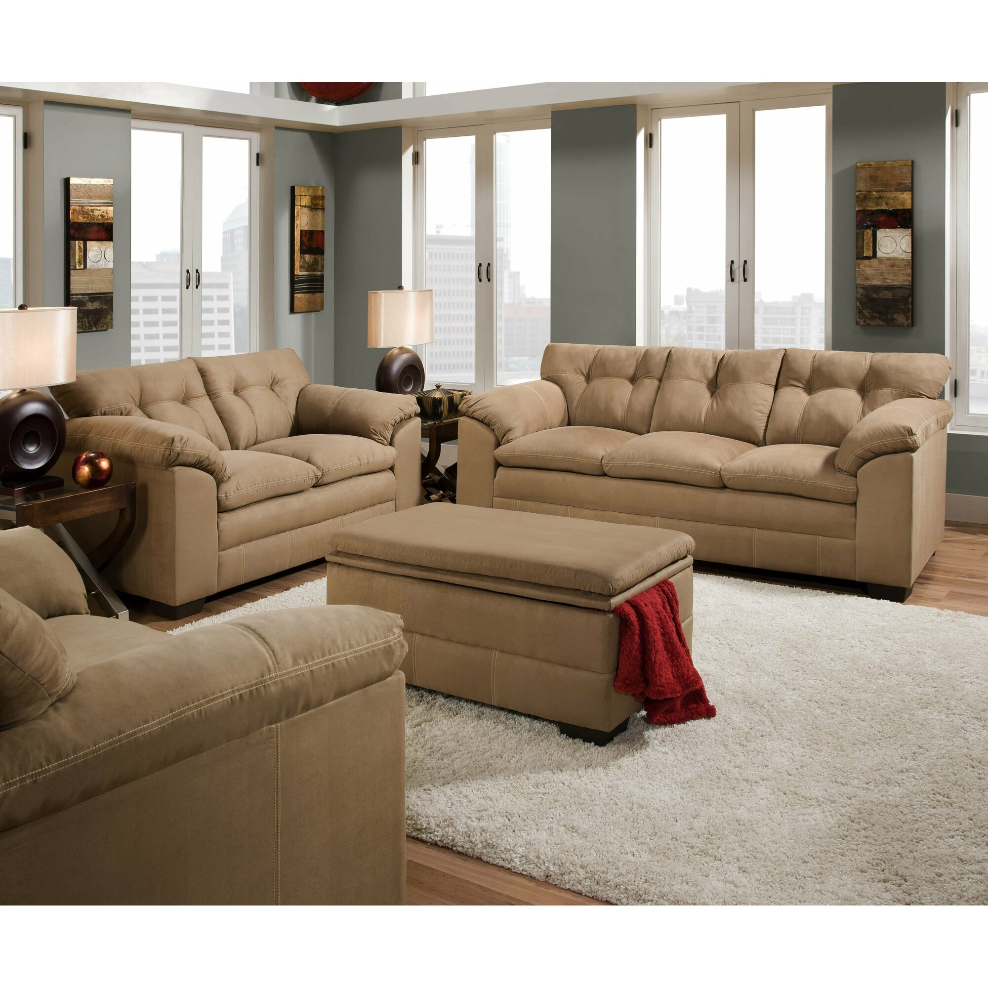 Simmons living room furniture