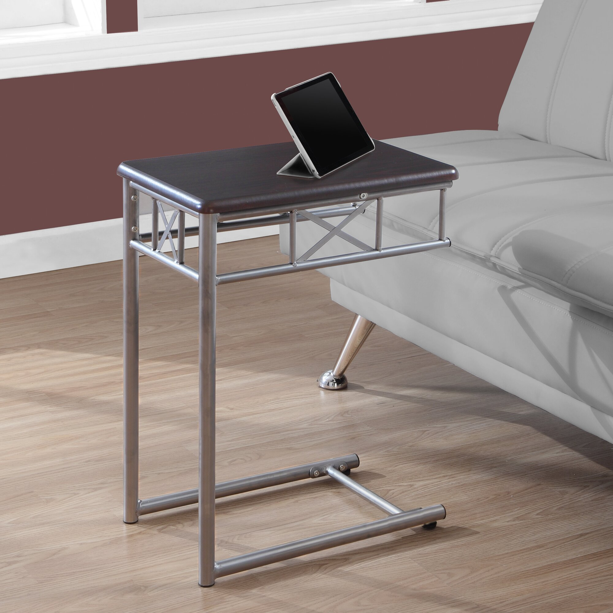 Monarch Specialties Inc Snack End Table Reviews Wayfair