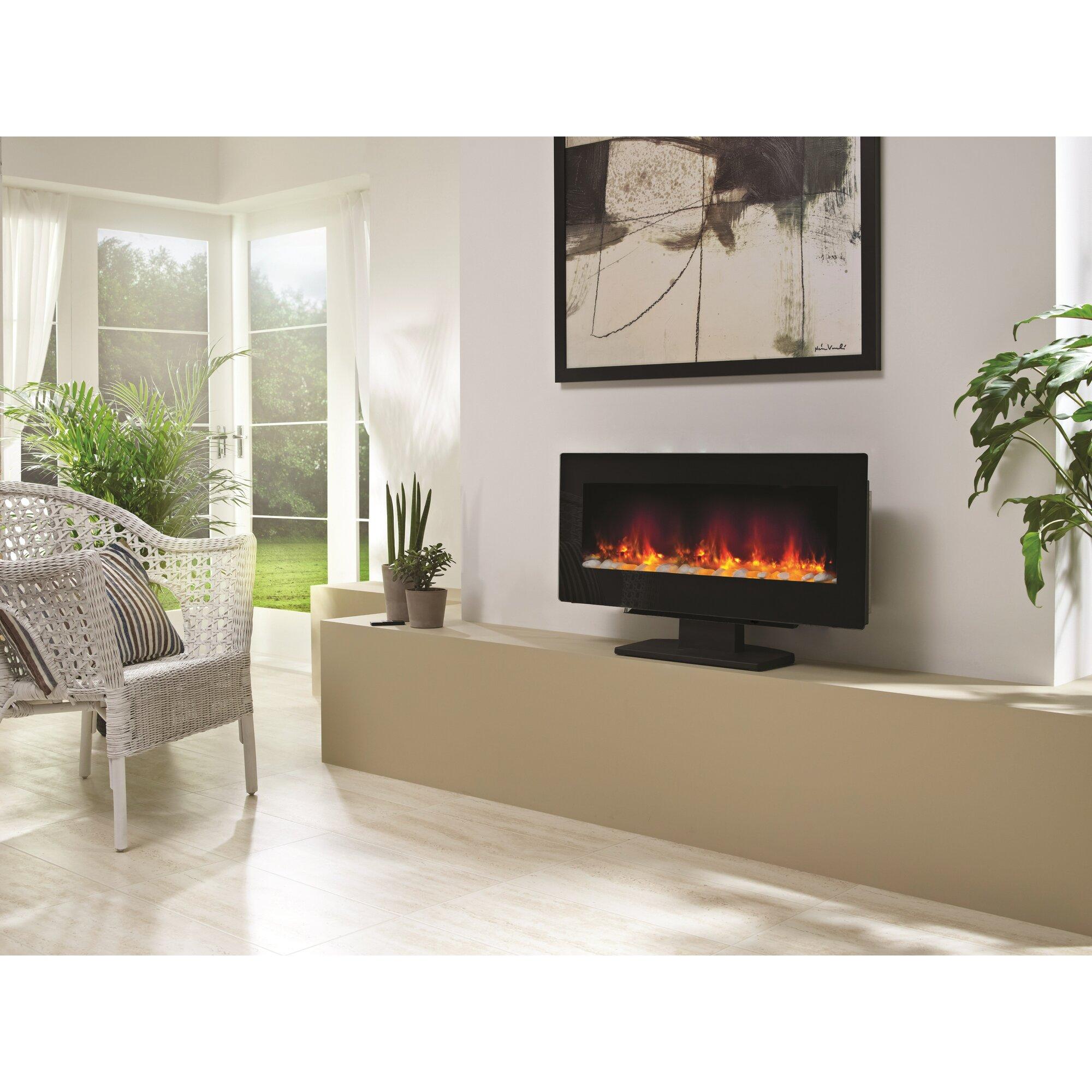 Bemodern Amari Electric Fireplace Reviews Wayfaircouk . Fireplace Night  Guard .