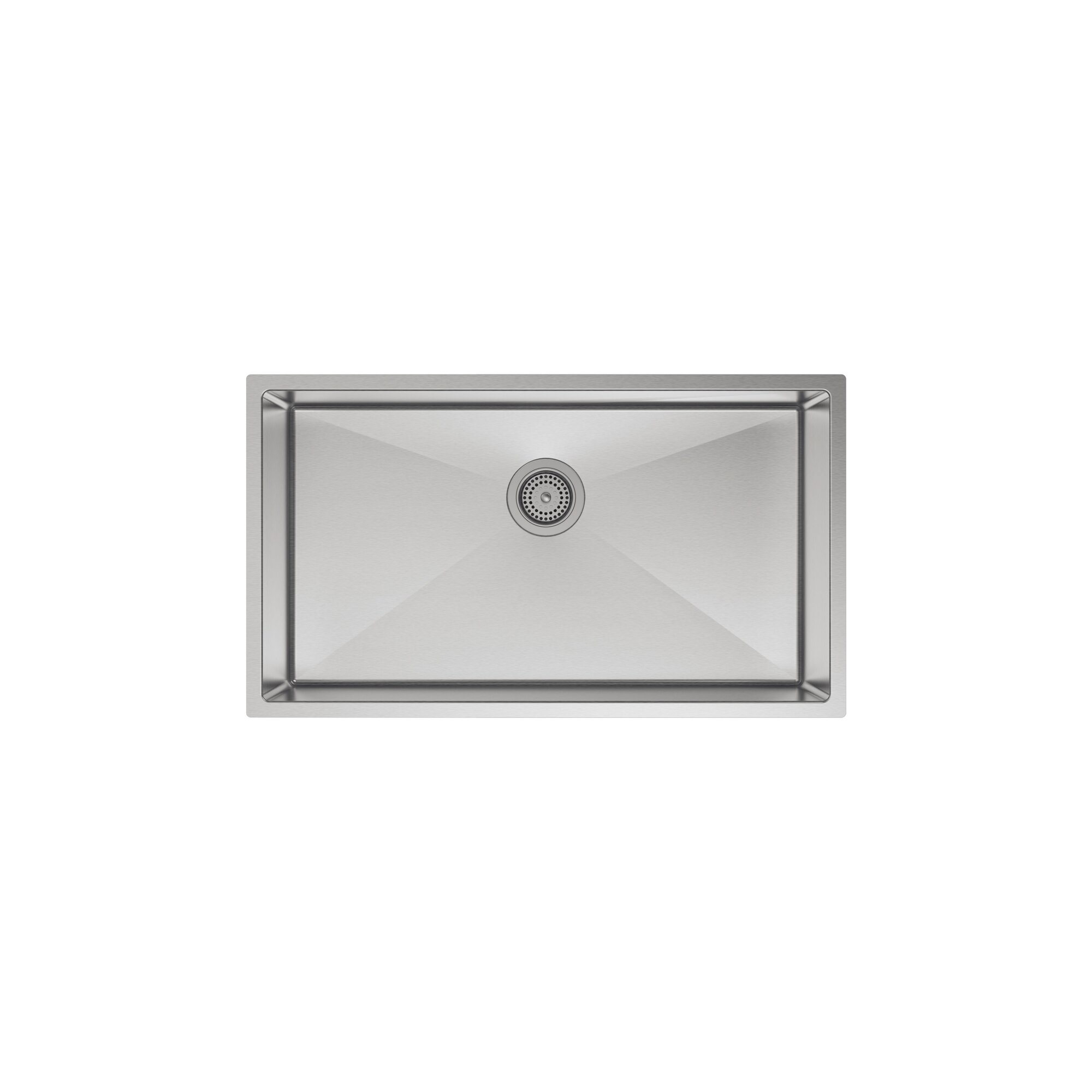 strive 32 x 1825 undermount single bowl kitchen sink with - Bowl Kitchen Sink