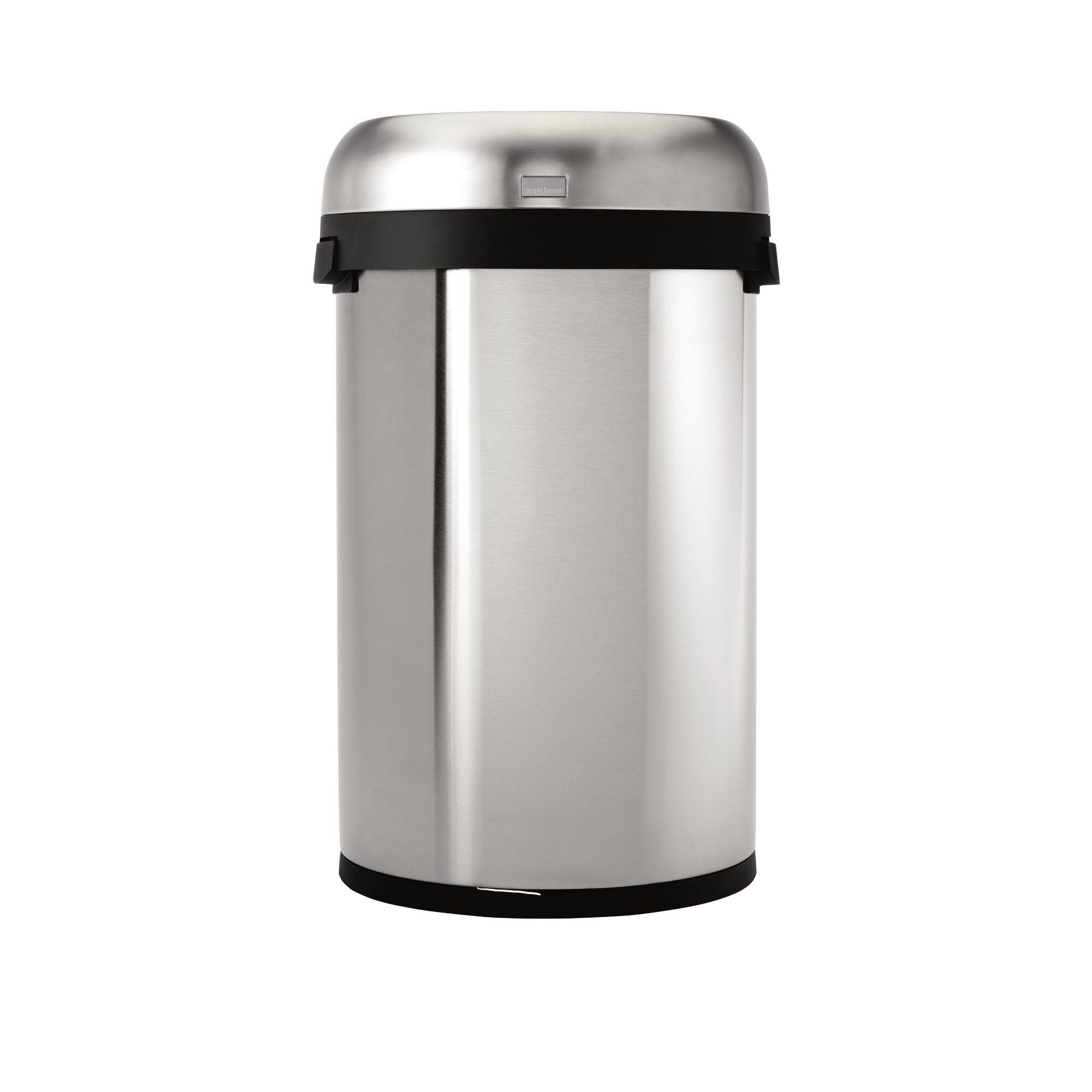 simplehuman stainless steel 16 gallon trash can reviews. Black Bedroom Furniture Sets. Home Design Ideas